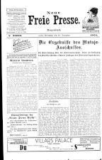 Neue Freie Presse 19251216 Seite: 1