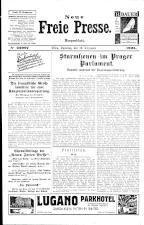Neue Freie Presse 19251219 Seite: 1