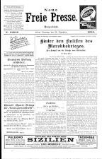 Neue Freie Presse 19251222 Seite: 1