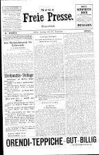 Neue Freie Presse 19251225 Seite: 1