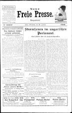 Neue Freie Presse 19260120 Seite: 1