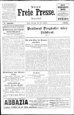 Neue Freie Presse 19260122 Seite: 1
