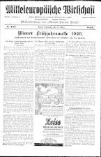 Neue Freie Presse 19260306 Seite: 19