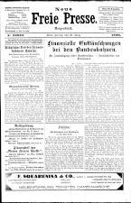 Neue Freie Presse 19260319 Seite: 1
