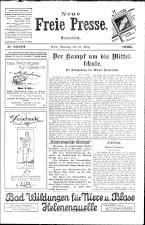 Neue Freie Presse 19260327 Seite: 1