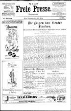 Neue Freie Presse 19260328 Seite: 1