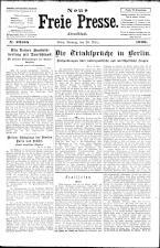 Neue Freie Presse 19260329 Seite: 1