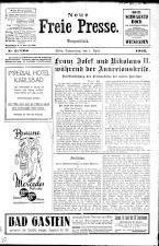 Neue Freie Presse 19260401 Seite: 1