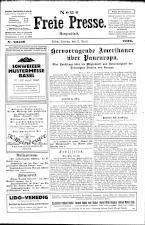 Neue Freie Presse 19260402 Seite: 1