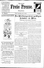 Neue Freie Presse 19260403 Seite: 1