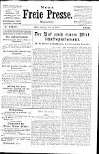 Neue Freie Presse 19260416 Seite: 1
