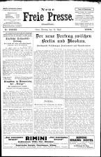 Neue Freie Presse 19260419 Seite: 1