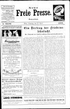 Neue Freie Presse 19260427 Seite: 1