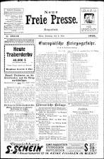 Neue Freie Presse 19260509 Seite: 1