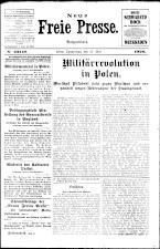 Neue Freie Presse 19260513 Seite: 1