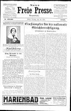 Neue Freie Presse 19260528 Seite: 1