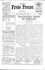 Neue Freie Presse 19260603 Seite: 1