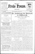 Neue Freie Presse 19260623 Seite: 1