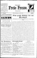 Neue Freie Presse 19260626 Seite: 1