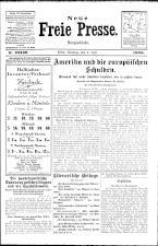 Neue Freie Presse 19260704 Seite: 1