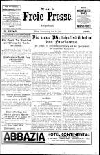Neue Freie Presse 19260708 Seite: 1