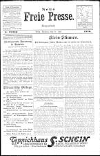 Neue Freie Presse 19260711 Seite: 1