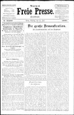 Neue Freie Presse 19260712 Seite: 1