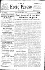 Neue Freie Presse 19260716 Seite: 1
