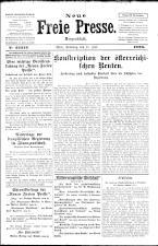 Neue Freie Presse 19260717 Seite: 1