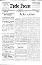 Neue Freie Presse 19260719 Seite: 1