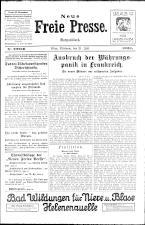 Neue Freie Presse 19260721 Seite: 1