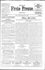 Neue Freie Presse 19260722 Seite: 1