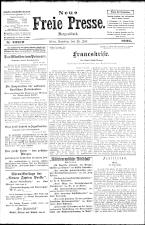 Neue Freie Presse 19260724 Seite: 1