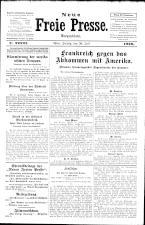 Neue Freie Presse 19260730 Seite: 1