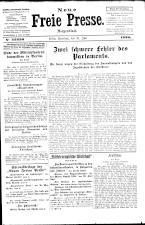 Neue Freie Presse 19260731 Seite: 1