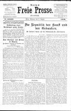 Neue Freie Presse 19260802 Seite: 1
