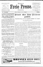 Neue Freie Presse 19260803 Seite: 1