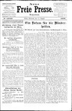 Neue Freie Presse 19260811 Seite: 1