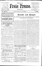 Neue Freie Presse 19260821 Seite: 1