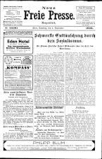 Neue Freie Presse 19260904 Seite: 1