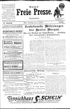 Neue Freie Presse 19261003 Seite: 1
