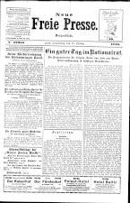 Neue Freie Presse 19261021 Seite: 1