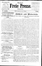Neue Freie Presse 19261022 Seite: 1