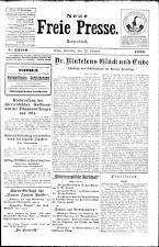 Neue Freie Presse 19261023 Seite: 1