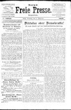 Neue Freie Presse 19261102 Seite: 1