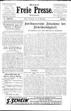 Neue Freie Presse 19261103 Seite: 1