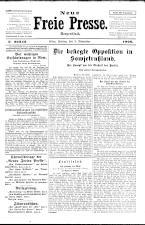 Neue Freie Presse 19261105 Seite: 1