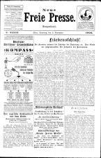 Neue Freie Presse 19261106 Seite: 1