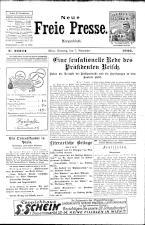Neue Freie Presse 19261107 Seite: 1
