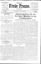 Neue Freie Presse 19261122 Seite: 1